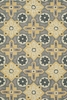 Summit Geo Tiles Rug in Yellow