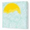 Sun and Sky Canvas Wall Art