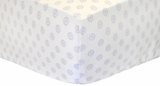 Sunburst in Lavender Crib Sheet $(+42.00)
