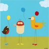 Sunny Day Birds II Canvas Reproduction