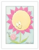 Sunny Flower Framed Canvas Reproduction