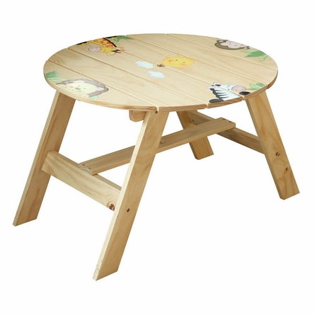Sunny Safari Indoor and Outdoor Table with 2 Chairs Set