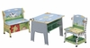 Sunny Safari Table Chair and Bench Set