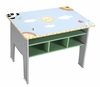 Sunny Safari Table with Shelves