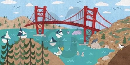 Sunny San Francisco Canvas Wall Art