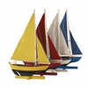 Sunset Sailors Boat Models - Set Of 4