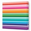Sunset Stripe Canvas Wall Art