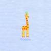 Sunshine Giraffe Canvas Reproduction