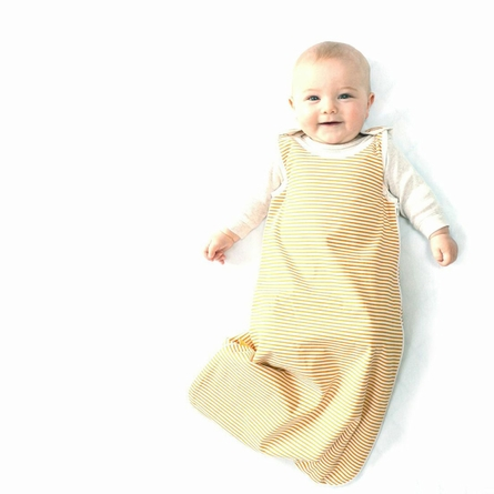 Sunshine Stripe Organic Sleep Sack