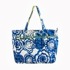 Super Be Diaper Bag in Cobalt Blossoms