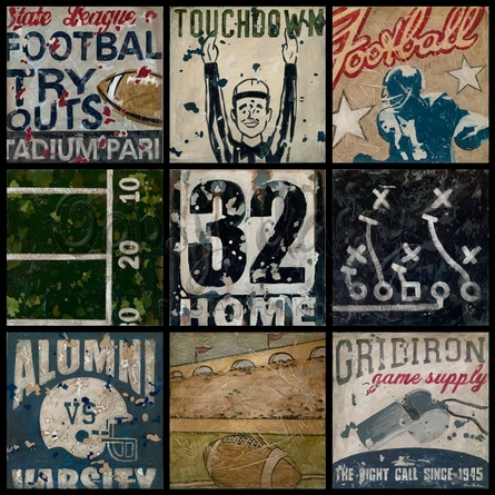 Super Bowl Bound Canvas Wall Art