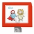 Super Hero And Lion Night Light