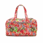 Super Star Duffel Bag in Perky Perennials