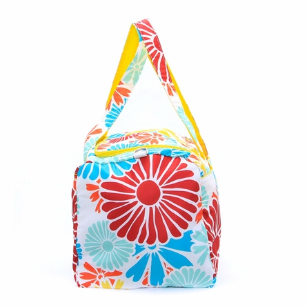 Super Star Duffel Bag in Flower Power