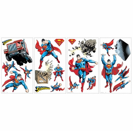 Superman Day Of Doom Peel & Stick Appliques