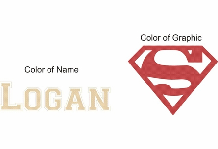 Superman Personalized Name Wall Decal