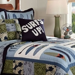 Surf Theme Bedding