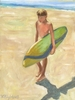 Surfer Boy Canvas Reproduction