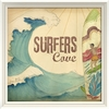 Surfers Cove Framed Wall Art