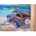 Surfs Up Dude Canvas Wall Hanging
