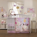Surina 4-Piece Crib Bedding Set