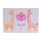 Surina Giraffes Canvas Reproduction