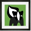 Susan Skunk Framed Art Print