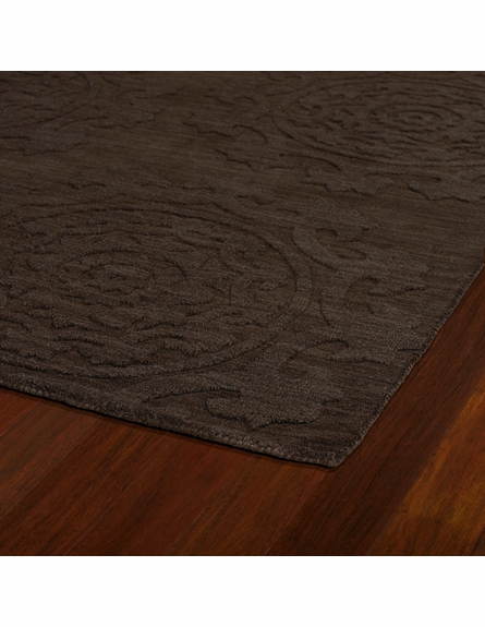 Suzani Imprints Classic Rug in Chocolate