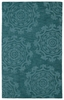 Suzani Imprints Classic Rug in Turquoise