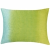 Suzani Jade Tie Dye Throw Pillow