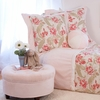 Sweat Pea's Garden 3 Piece Custom Bedding Set