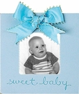 Sweet Baby Picture Frame - Sky