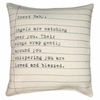 Sweet Baby Letter Throw Pillow