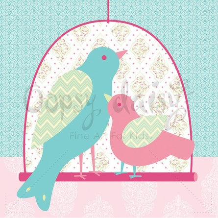 Sweet Bird Canvas Wall Art