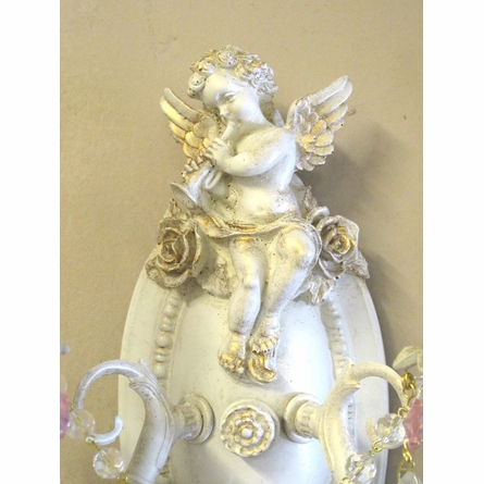 Sweet Cherub Wall Sconce