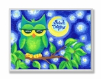 Sweet Dreams Owl Wall Plaque