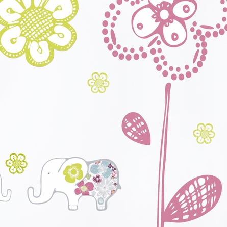 Sweet Elephants Wall Decal