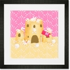 Sweet Sandcastle Framed Art Print
