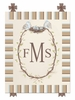 Sweet Songbird Custom Monogram Canvas Reproduction
