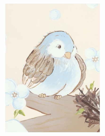 Sweet Songbird Personalized Wall Hanging