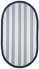 Sweet Treats Striped Rug in Navy