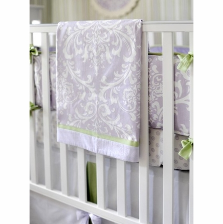 Sweet Violet Crib Bedding Set