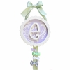Sweet Violet Monogram Barrette Holder