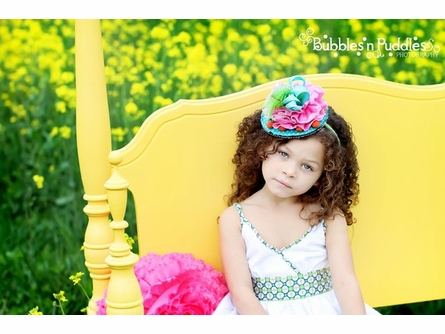 Sweeter than a Cupcake Mini Top Hat Headband