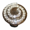 Swirl Crystal Drawer Knob