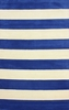 Sylvester Striped Rug in Blue