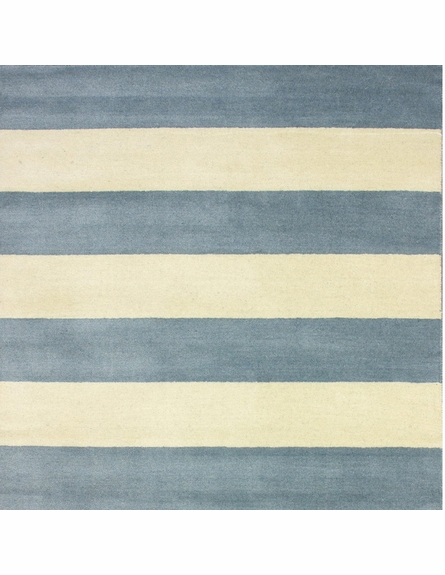 Sylvester Striped Rug in Dusk