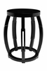 Taboret Stool or Side Table - Black