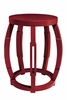 Taboret Stool or Side Table - Red