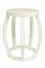 Taboret Stool or Side Table - White